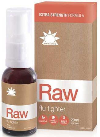 Amazonia Raw Flu Fighter (Cold & Flu Relief)Spray 20ml