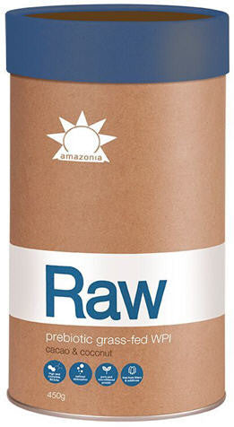 Amazonia Raw Prebiotic Grass-Fed WPI Cacao & Coconut 450g