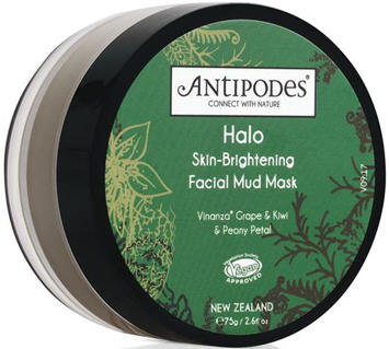 Antipodes Halo Skin-Brightening Facial Mud Mask 75g