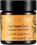 Antipodes Kiwi Seed Gold Luminous Eye Cream 30ml
