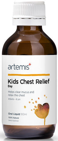 Artemis Kids Chest Relief Day Oral Liquid 100ml