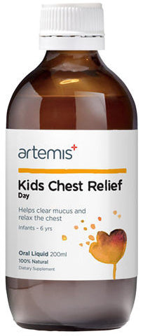 Artemis Kids Chest Relief Day Oral Liquid 200ml