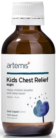 Artemis Kids Chest Relief Night Oral Liquid 100ml
