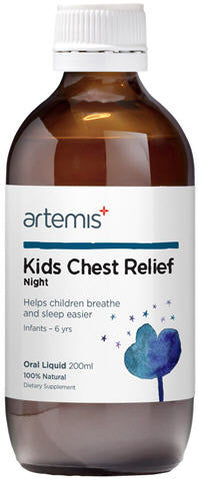 Artemis Kids Chest Relief Night Oral Liquid 200ml