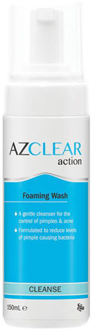 Azclear Action Foaming Wash 150ml - New Zealand Only