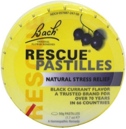 Bach Rescue Remedy Pastilles 50g - Blackcurrant