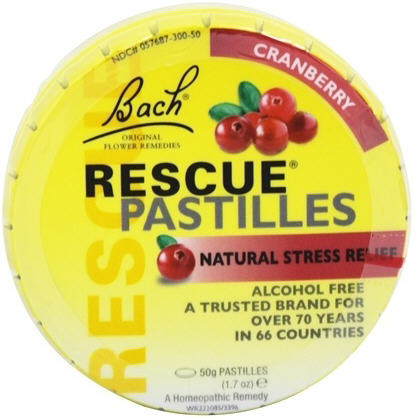 Bach Rescue Remedy Pastilles 50g - Cranberry