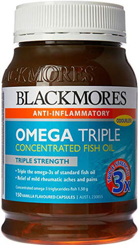 Blackmores Omega Triple Concentrated Fish Oil 150