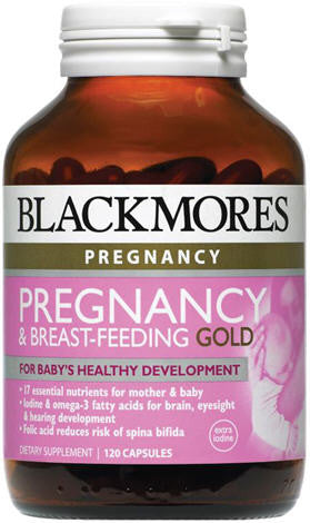 Blackmores Pregnancy & Breast-Feeding Gold Capsules 120
