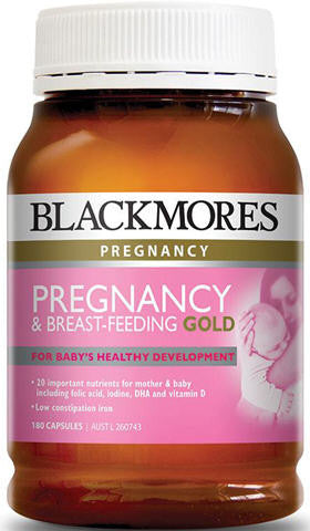 Blackmores Pregnancy & Breast-Feeding Gold Capsules 180