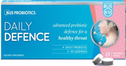 Blis K12 Daily Defence Strawberry Lozenges 30