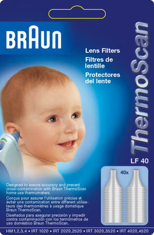 Braun Disposable Lens Filters LF 40 - not available