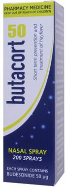 Butacort 50mcg Nasal Spray 200 Sprays