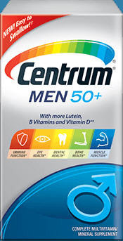 Centrum for Men 50+ Tablets 60