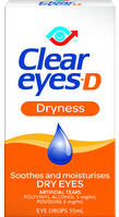 Clear Eyes-D Dryness Eye Drops 15ml