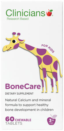Clinicians BoneCare Kids Chewable Tablets 60