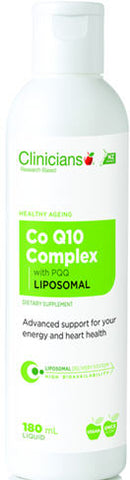 Clinicians Liposomal Co Q10 Complex with PQQ Liquid 180ml