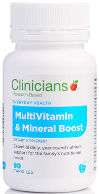 Clinicians Vitamin and Mineral Boost Capsules 90