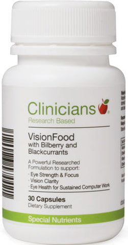 Clinicians VisionFood Capsules 30