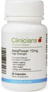 Clinicians AstaPower Capsules 10mg