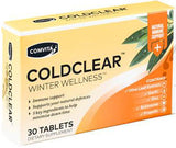 Comvita ColdClear Winter Wellness Tablets 30