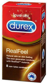 Durex Latex Free Condoms Real Feel 8