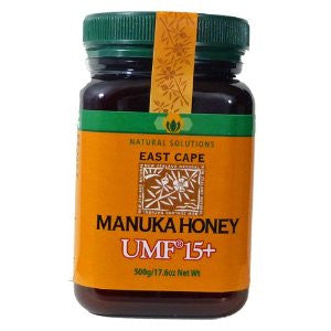 East Cape Manuka Honey UMF 15+ 500g