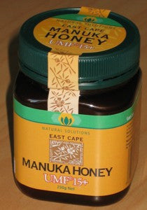 East Cape Manuka Honey UMF 15+ 250g