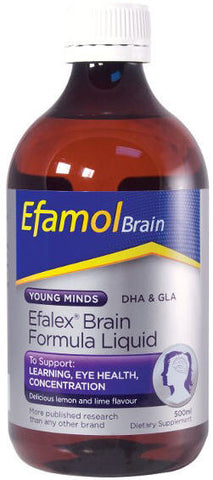 Efamol Efalex Brain Young Minds Formula Liquid 500ml - (New Zealand Only)