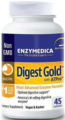 Enzymedica Digest Gold with ATPro Capsules 45