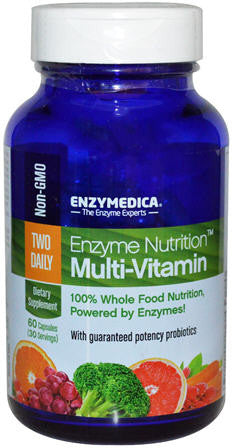 Enzymedica Multivitamin Enzyme Nutrition Capsules 60