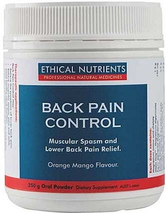 Ethical Nutrients Back Pain Control Oral Powder 250g - Discontinued