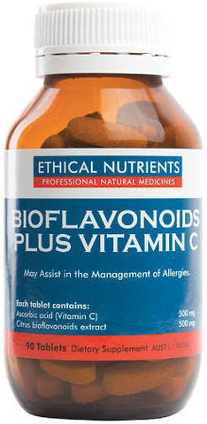 Ethical Nutrients Bioflavonoids Plus Vitamin C Tablets 90