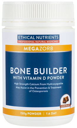 Ethical Nutrients Bone Builder with Vitamin D Powder 150g