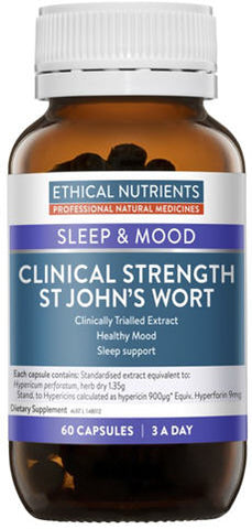 Ethical Nutrients Clinical Strength St John's Wort Capsules 60