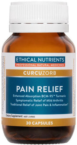 Ethical Nutrients Curcuzorb Pain Relief Capsules 30