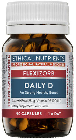 Ethical Nutrients Daily D Capsules 90