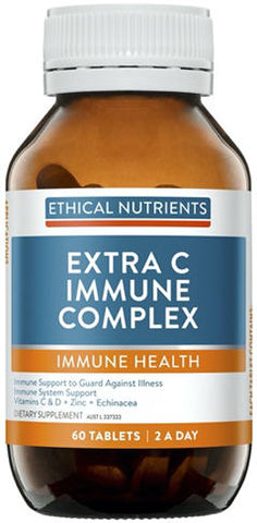 Ethical Nutrients Extra C Immune Complex Tablets 60