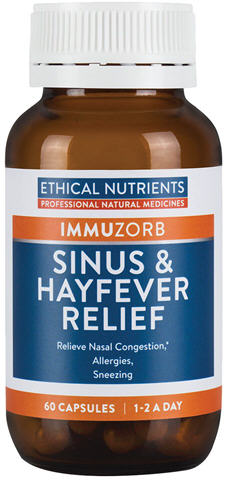 Ethical Nutrients Immuzorb Sinus and Hayfever VegCaps 60