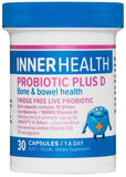 Inner Health Probiotic Plus D Capsules 30