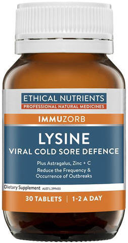 Ethical Nutrients Lysine Tablets 30