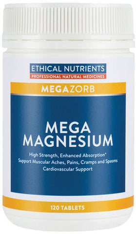 Ethical Nutrients Mega Magnesium Tablets 120