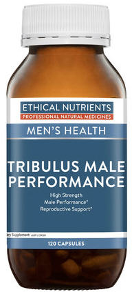 Ethical Nutrients Tribulus Male Performance Capsules 120 - New Zealand Only