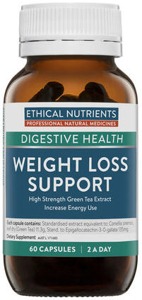 Ethical Nutrients Weight Loss Support (High Strength Green Tea Extract)  VegeCaps 60