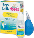 FESS Little Noses Saline Drops 25ml and Nasal Aspirator
