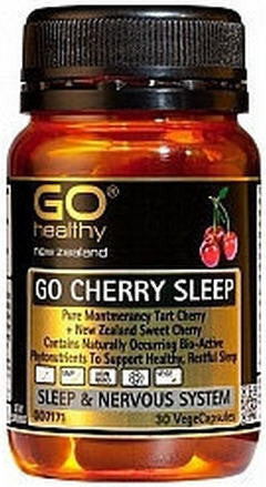 GO Healthy GO Cherry Sleep Capsules 30