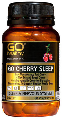 GO Healthy GO Cherry Sleep Capsules 60