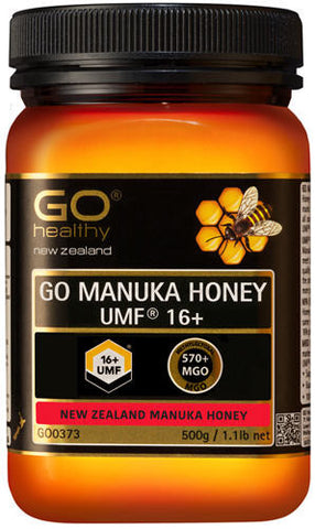GO Healthy GO Manuka Honey UMF 16+ (MGO 570+ NPA 16+) 500g