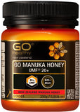 GO Healthy GO Manuka Honey UMF 20+ (MGO 820+ NPA 20+) 250g