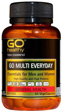 Go Healthy GO Multi Everyday Capsules 60